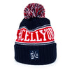 LABATT CELLYON TOQUE (NAVY + RED)