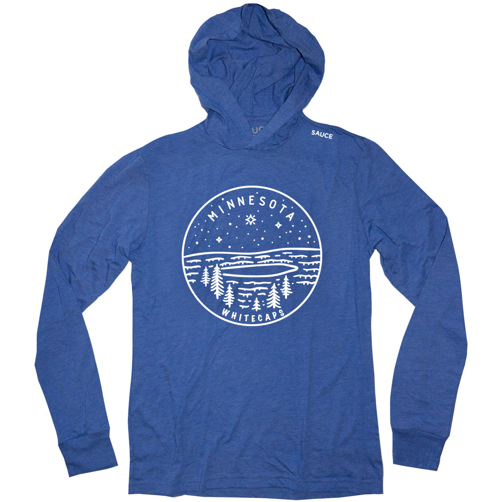 MN WHITECAPS LIGHT-WEIGHT HOODIE