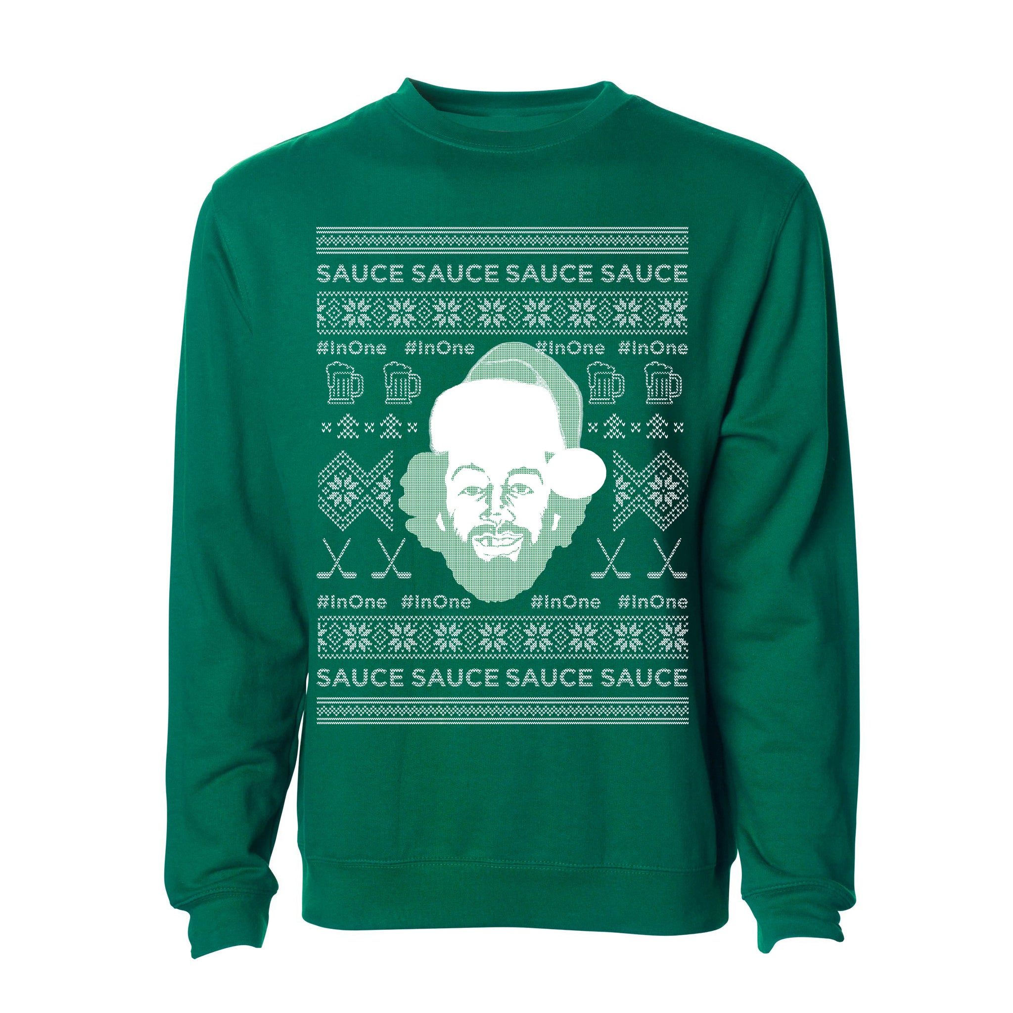 UGLY InOne SWEATER (XMAS TREE GREEN)