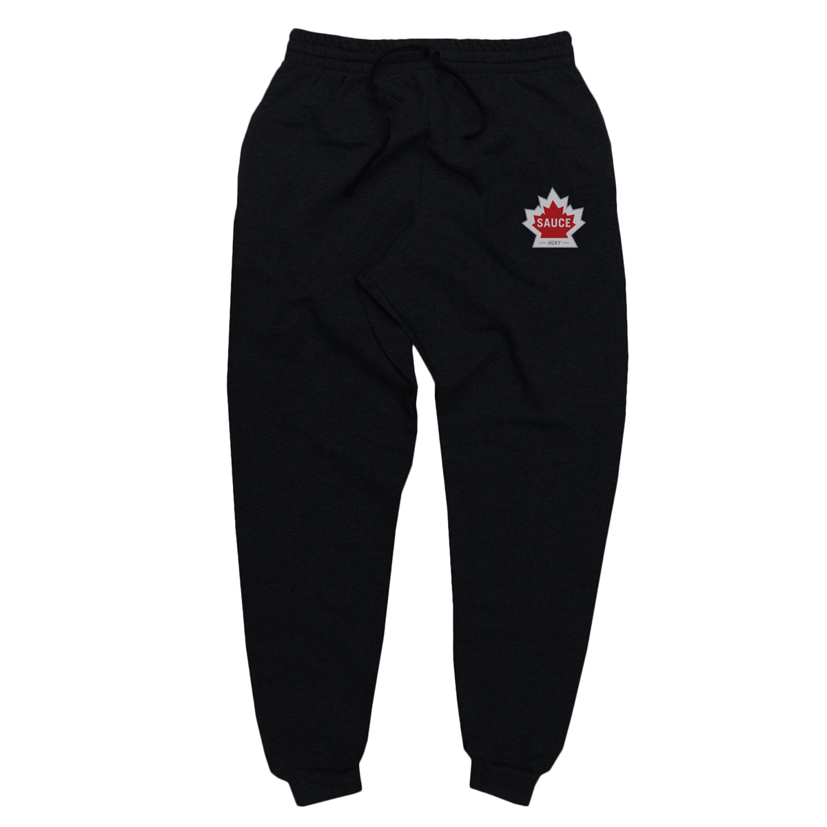 WARMING HOUSE JOGGERS (BLACK)