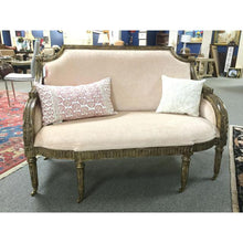 Maitland-Smith Gilded Acanthus Frame Settee