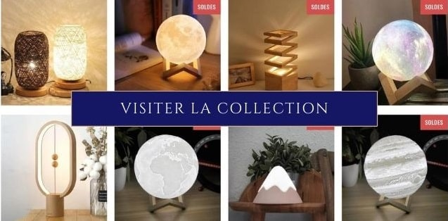 Collection Lampes Lunes