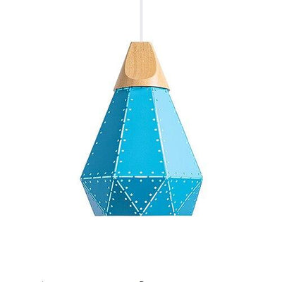 Abat Jour Suspension Bleu