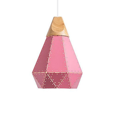 Abat Jour Suspension Rose