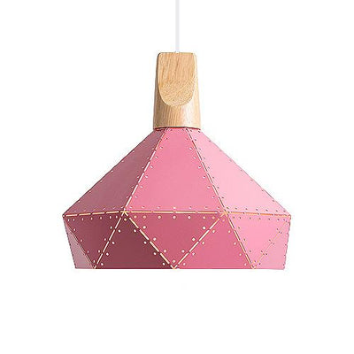 Abats Jour Suspension Rose