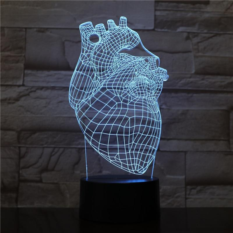 Lampe hologramme 3D