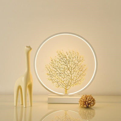 Lampe de Chevet Design LED Blanc