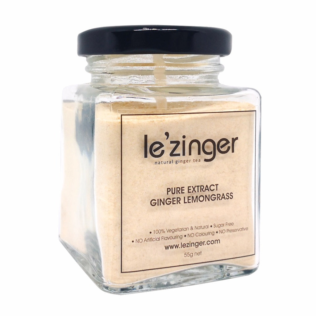 le'zinger Pure Extract Ginger Lemongrass Powder 55g