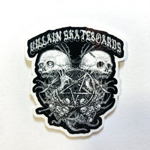 VILLAIN Blackout Sticker
