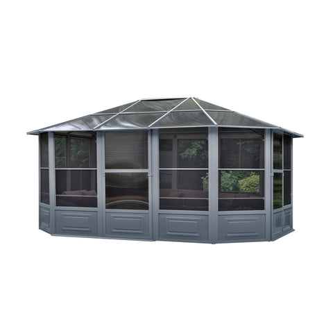 Florence Solarium 12 Ft. x 15 Ft. in Slate or Sand 41215-32