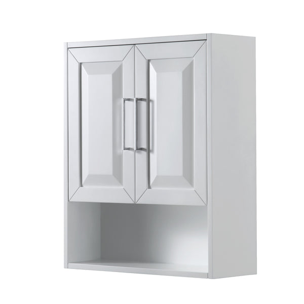 Wyndham Collection Daria Over-toilet Wall Cabinet White