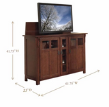 "Touchstone The Bungalow TV Lift Cabinet for 60"" Flat screen TVs 70062"
