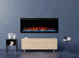 "Touchstone Sideline Elite 50"" Recessed Electric Fireplace 80036"
