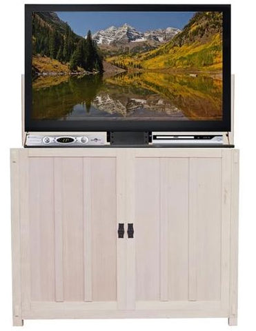 "Touchstone Elevate Unfinished Mission Style TV Lift Cabinet for 50"" Flat screen TVs 72106"