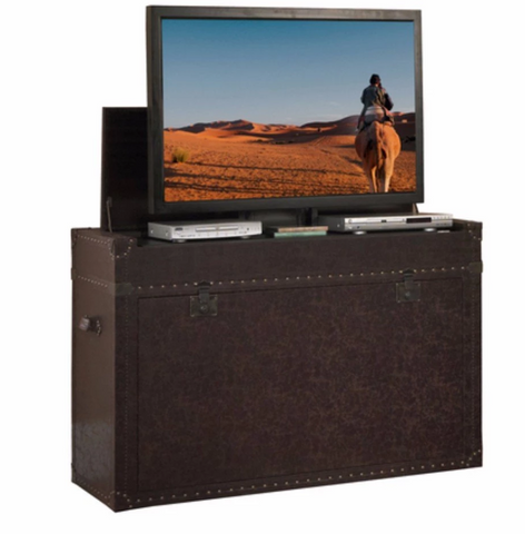 "Touchstone Ellis Trunk TV Lift Cabinet for 50"" Flat screen TVs 73007"