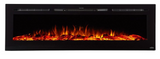 "Touchstone Sideline 72"" Recessed Electric Fireplace 80015"