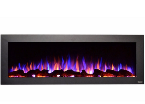 "Touchstone Sideline Outdoor/Indoor 50"" Wall Mounted Electric Fireplace 80017"