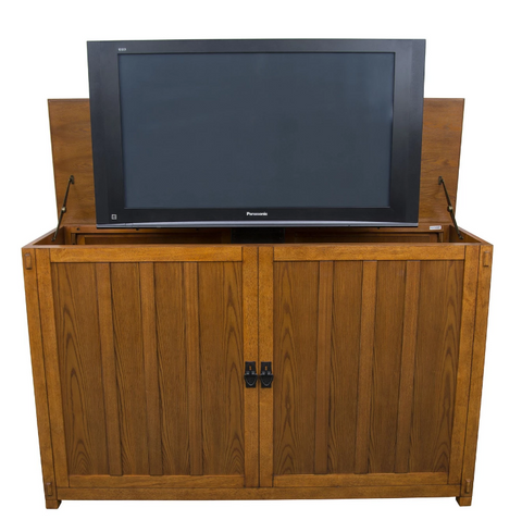 "Touchstone Grand Elevate Mission TV Lift Cabinet for 65"" Flat screen TVs 74006"
