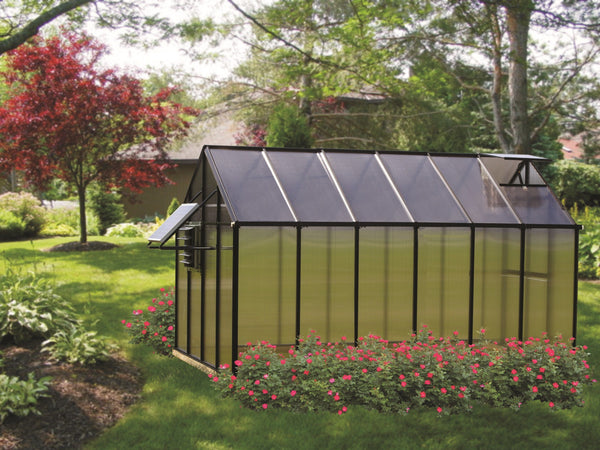 Riverstone Monticello Greenhouse 8x12 Mojave Package MONT-12-BK-MOJAVE