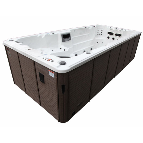 Canadian Spa Co. St. Lawrence 16' Swim Spa - Admired Home
