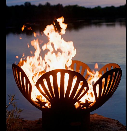 Fire Pit Art Barefoot Beach 10006 - Admired Home