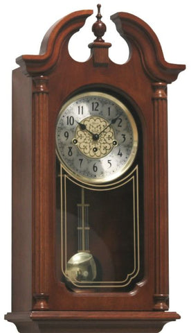 Hermle Hopewell Regulator Wall Clock with Mechanical 8 Day Westminster Chiming Movement