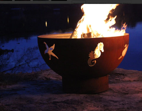 Fire Pit Art Sea Creatures 10034 - Admired Home