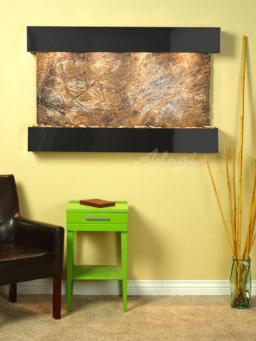 Adagio Sunrise Springs Square Blackened Copper Brown Marble SSS1506