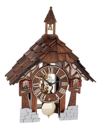 Hermle Theia Chalet Style Mantel Clock
