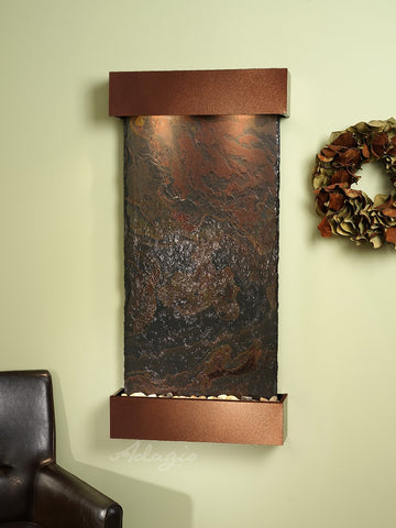 Adagio Whispering Creek Woodland Brown Multi Color Natural Slate WCS3704