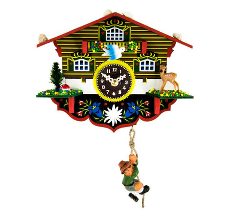 Hermle Wulfric Quartz Time Only Cuckoo Clock
