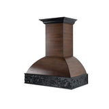 ZLINE Wooden Wall Mount Range Hood in Antigua and Hamilton - Includes CFM Remote Motor 393AH-RD-30