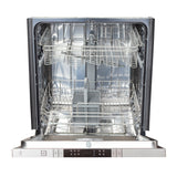 ZLINE Top Control Dishwasher in Hand-Hammered Copper with Stainless Steel Tub and Modern Style Handle DW-HH-18