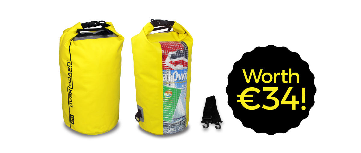 FREE DRY BAG ON ALL ORDERS OVER €55