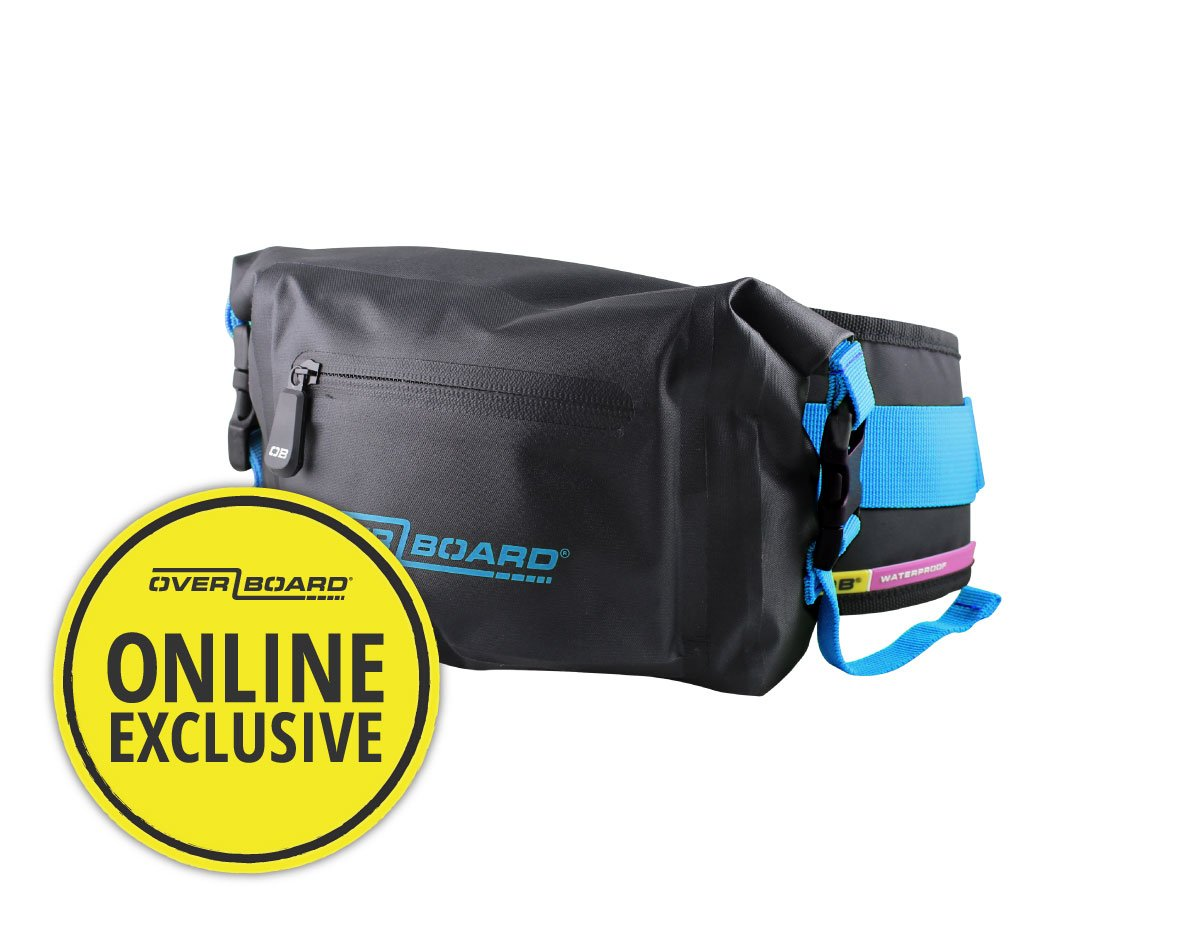 Pro-Light Waterproof Waist Pack - 2 Litres | OB1049BLK-LB