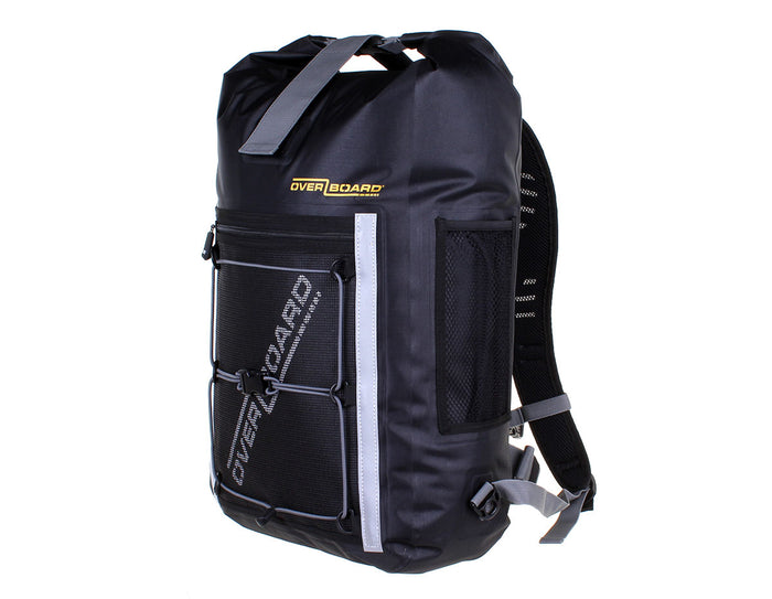 OVERBOARD Pro-Light Waterproof Black Backpack  Rucksack Bag 30L