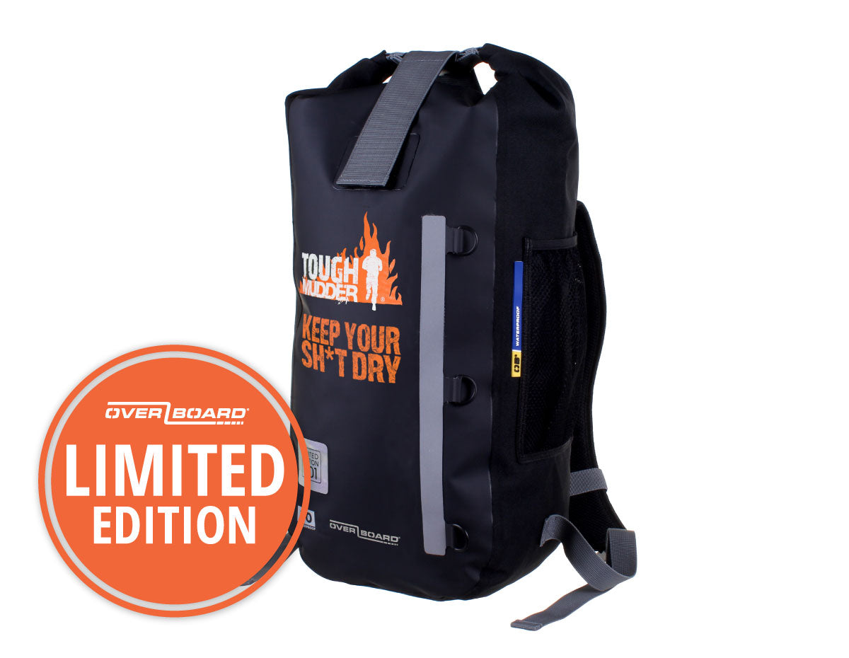 Tough Mudder Waterproof Backpack - 20 Litres