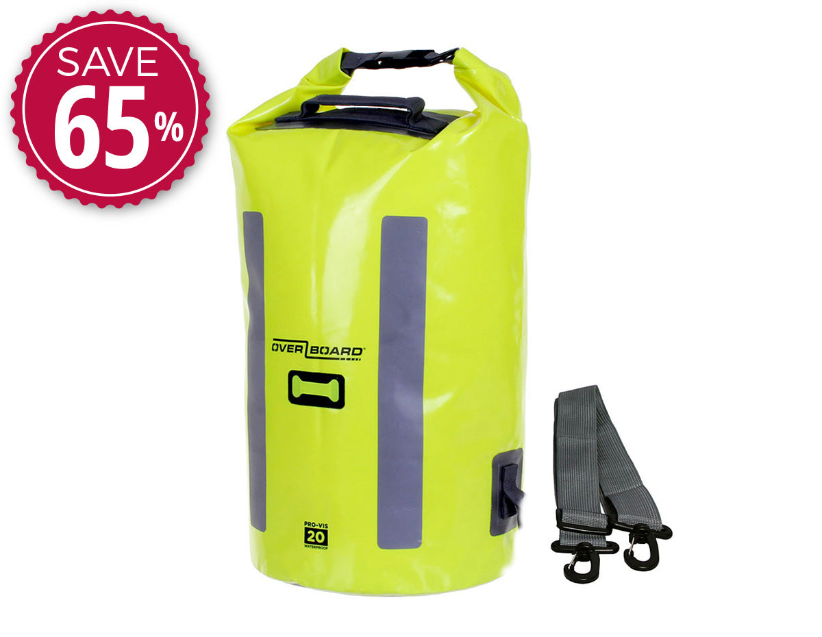 OverBoard Pro-Vis Waterproof Dry Tube - 20 Litres | OB1148HVY