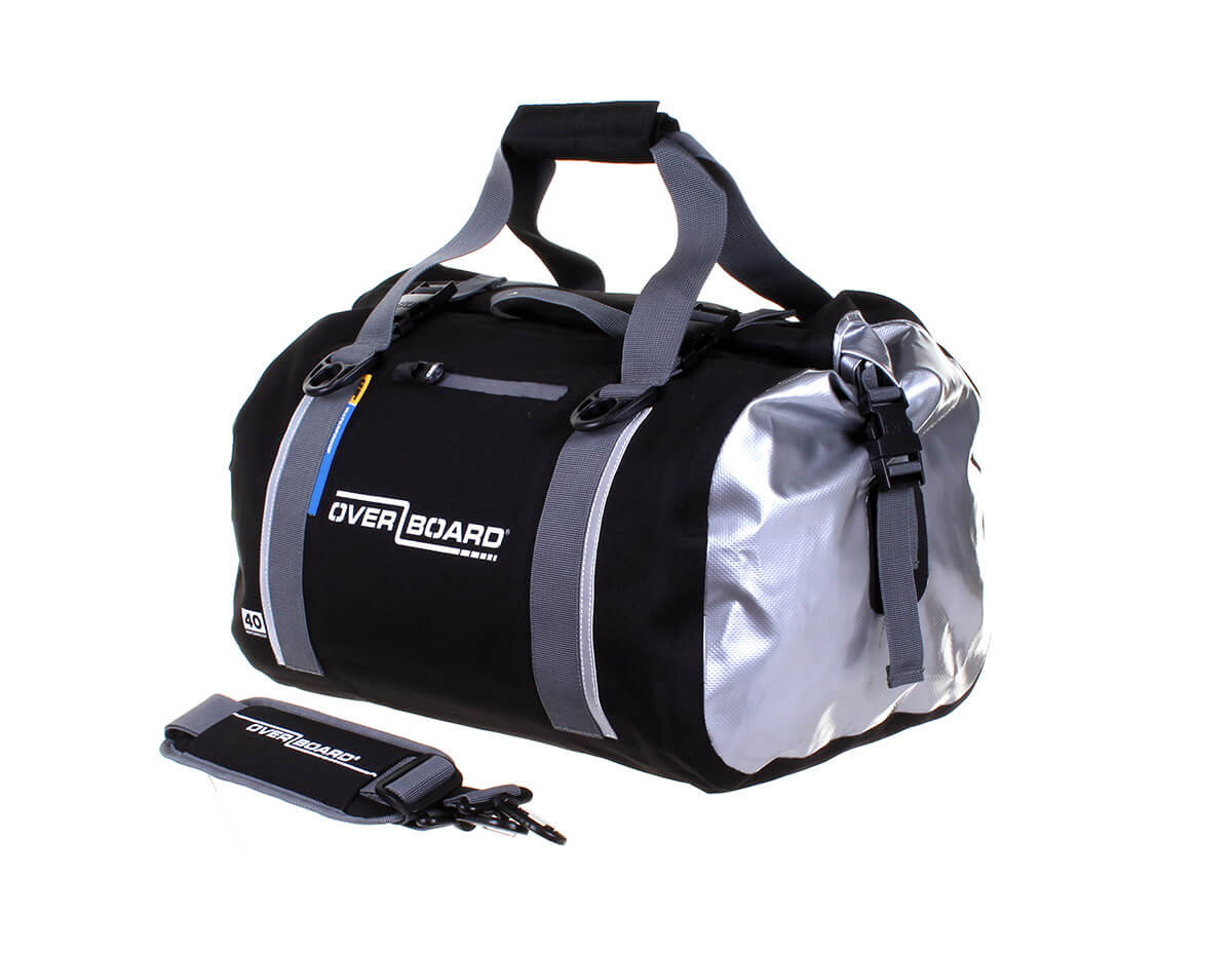 OverBoard Waterrpoof Classic 40 Litre Duffel | OB1150BLK