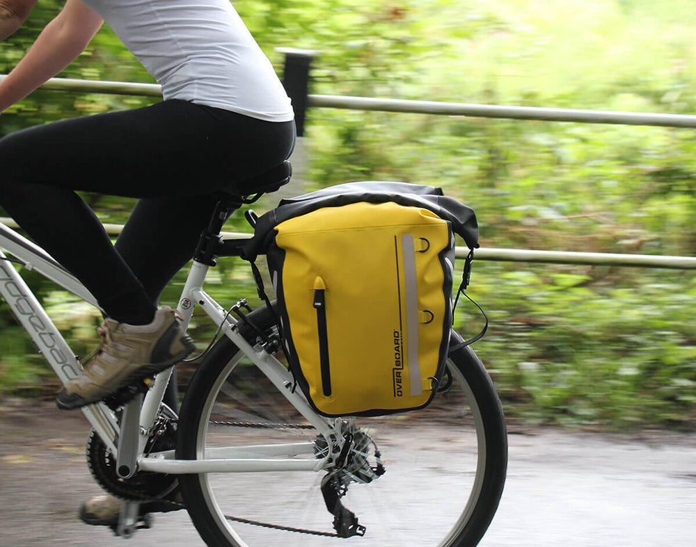 water proof visible  touring durable Cycling pannier for bike commuting