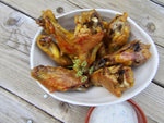 Pickle Brined Chicken Wings
