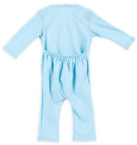 quick-change romper™ - beanzer blue
