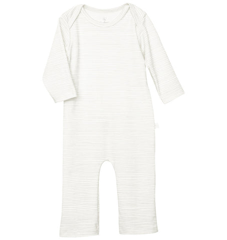 quick-change romper™ in gray stripey