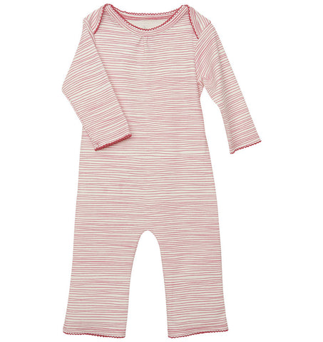 quick-change romper™ in pinkie stripe