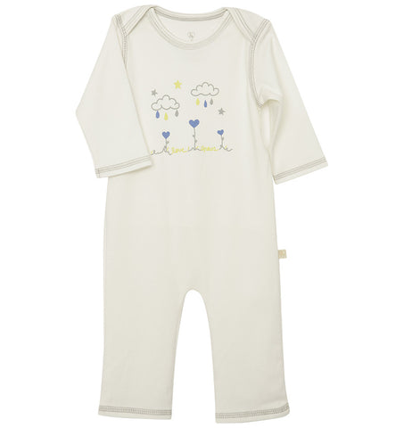 quick-change romper™ - love grows / blue