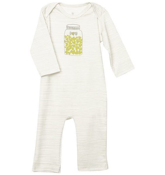 quick-change romper™- mason jars of love - ALMOST GONE!