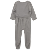 quick-change footie™ in gray stars - NEW!!