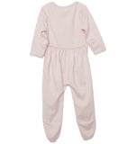quick-change footie™ in XO Arrow/Heart pink - NEW!!