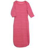 quick-change roo gown™, sugar plum stripe - NEW!