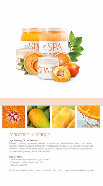 Massage Cream - mandarin & mango , 85gr.